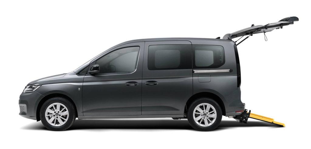 Flexiramp im neuen VW Caddy 5